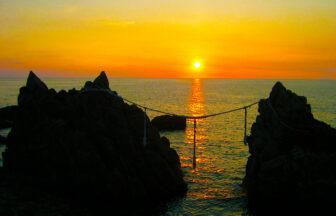 種子島夕日